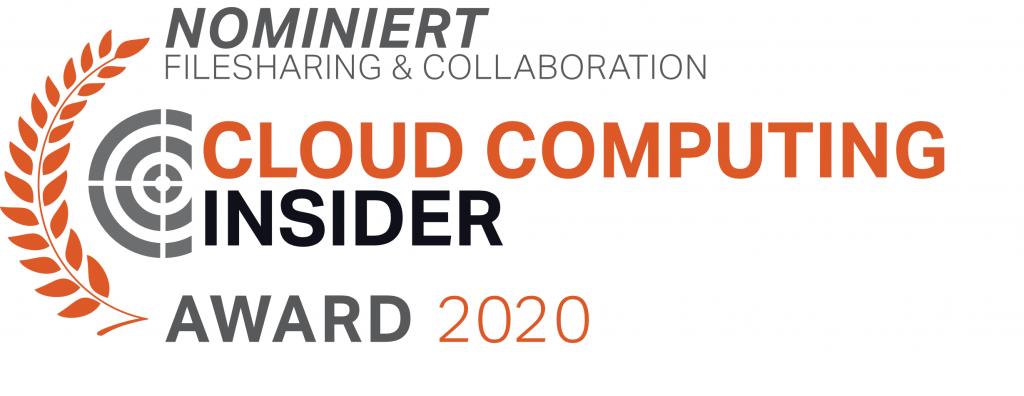 CloudComputing Award 2020