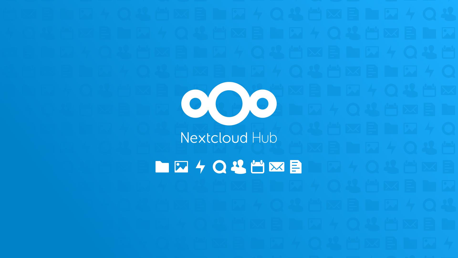 Nextcloud Hub logo
