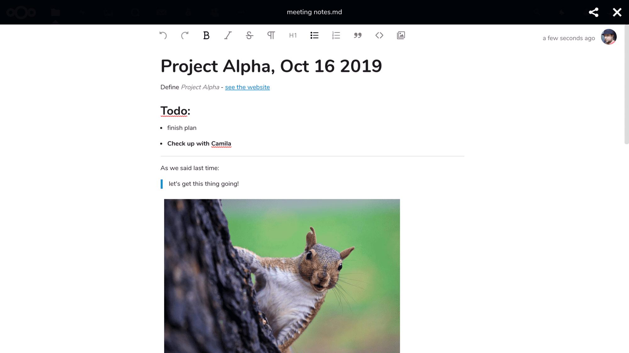 Nextcloud introduces collaborative rich text editor – Nextcloud