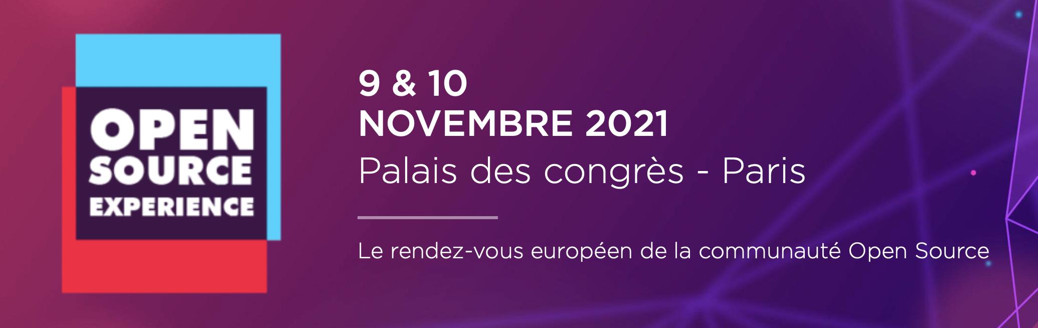 Open Source event Paris
