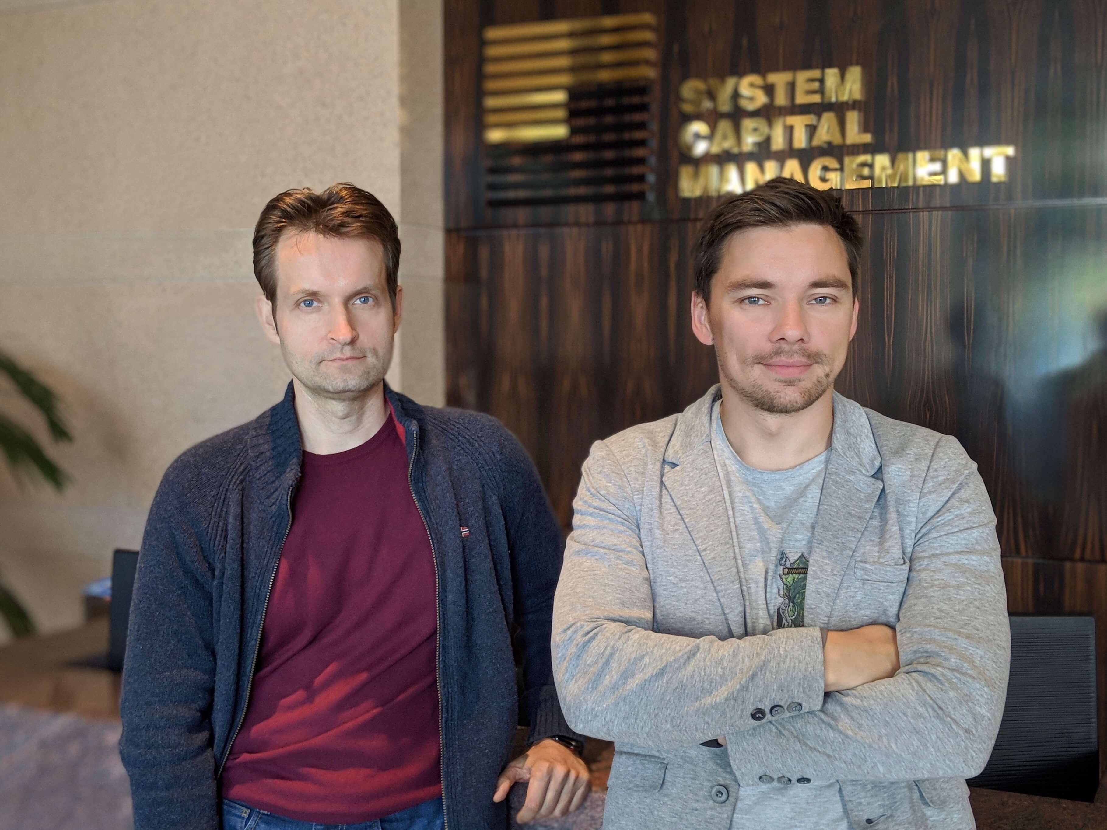 Fedir and Andriy