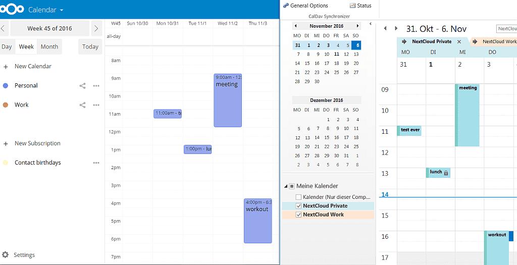 Nextcloud offers CalDav Synchronizer for Outlook users – Nextcloud