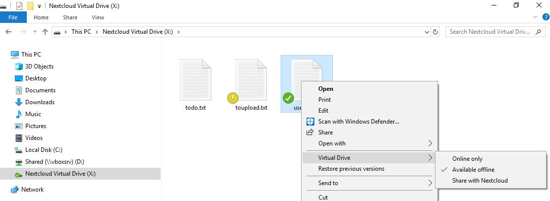 Nextcloud introduces Virtual Drive in Desktop Client to simplify