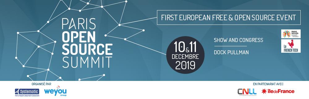 Paris open source summit logo