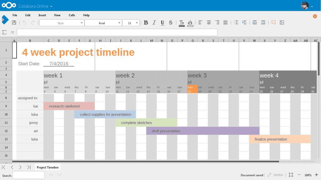 collabora-spreadsheet