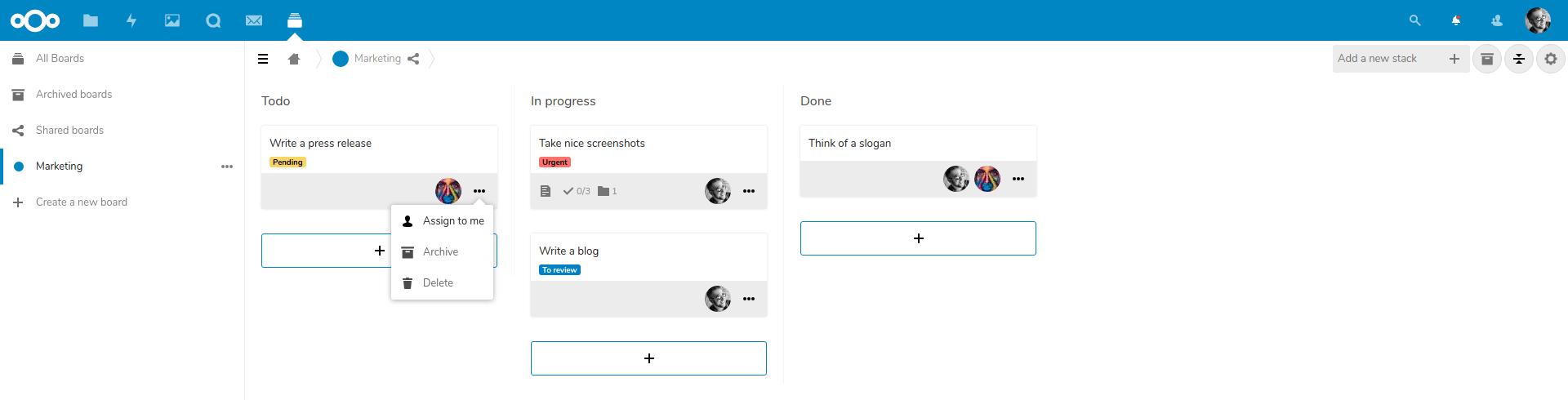 Nextcloud Deck release improves integration & collaboration