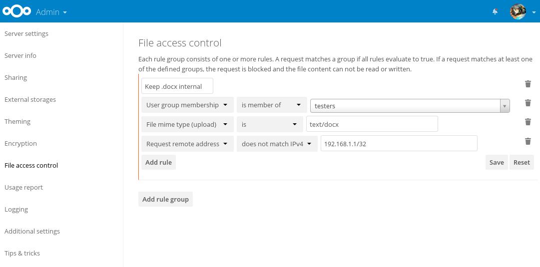 file access control