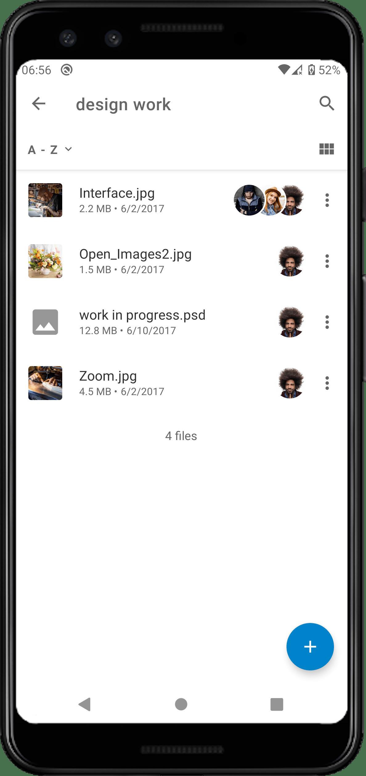See multiple avatars