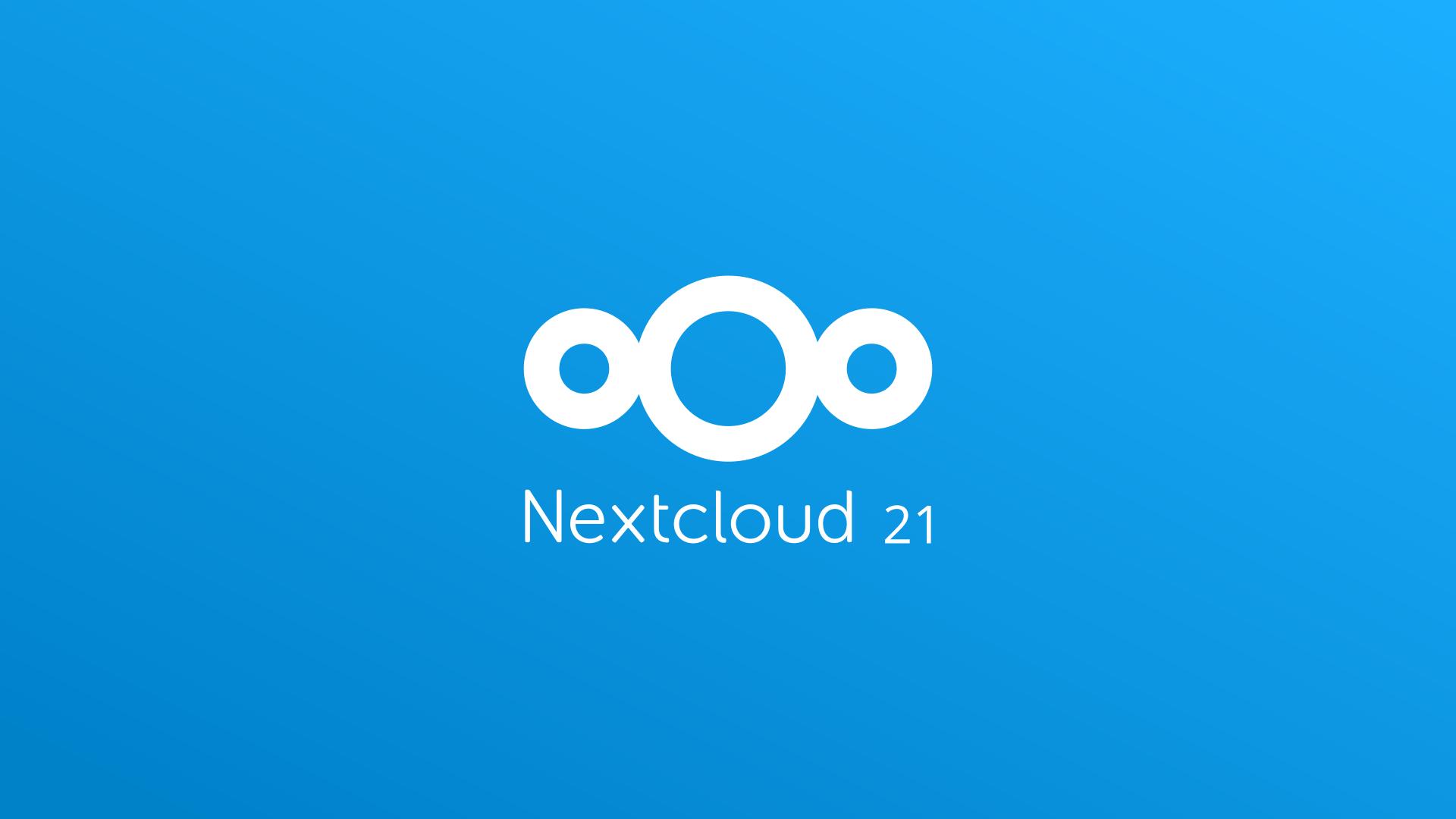 Nc 21 logo on blue background
